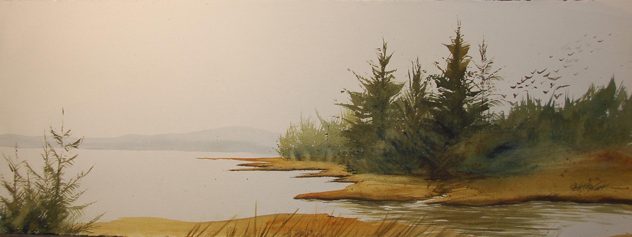 Quiet estuary