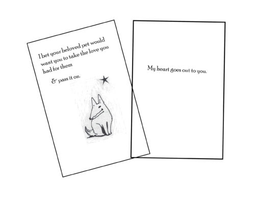 Greeting card front & inside