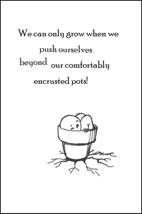 Encouragement - New endeavor